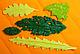 """Молд силиконовый  для мастики """"Листья ассорти"""" 9,4 см 7,6 см, фото 3"""