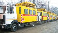 Пять машин аварийных для ремонта контактных сетей АТ-70М-041 на шасси МАЗ-4471 поступило на Минсктранс