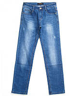 Мужские джинсы POBEDA приуженные царапки