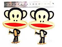 Аппликация клеевая обезьянки 10шт в упак