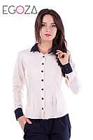 Женская стильная рубашка в деловом стиле , в расцветках