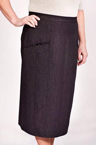 Женская юбка Камила серая