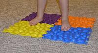 Ортопедические массажные коврики Пазлы (6шт)