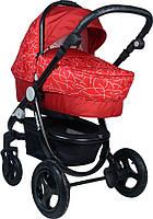 Детская Универсальная коляск 2 в 1 Babyhit Valente Terracotta  - прогулочный блок + люлька - Трансформер