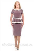 """Женское  платье больших размеров купить  """"Анита"""""""