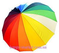 Зонт  Радуга трость полуавтомат Большой 3321-1