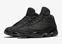 """Баскетбольные кроссовки Air Jordan 13 Retro """"Black Cat"""""""