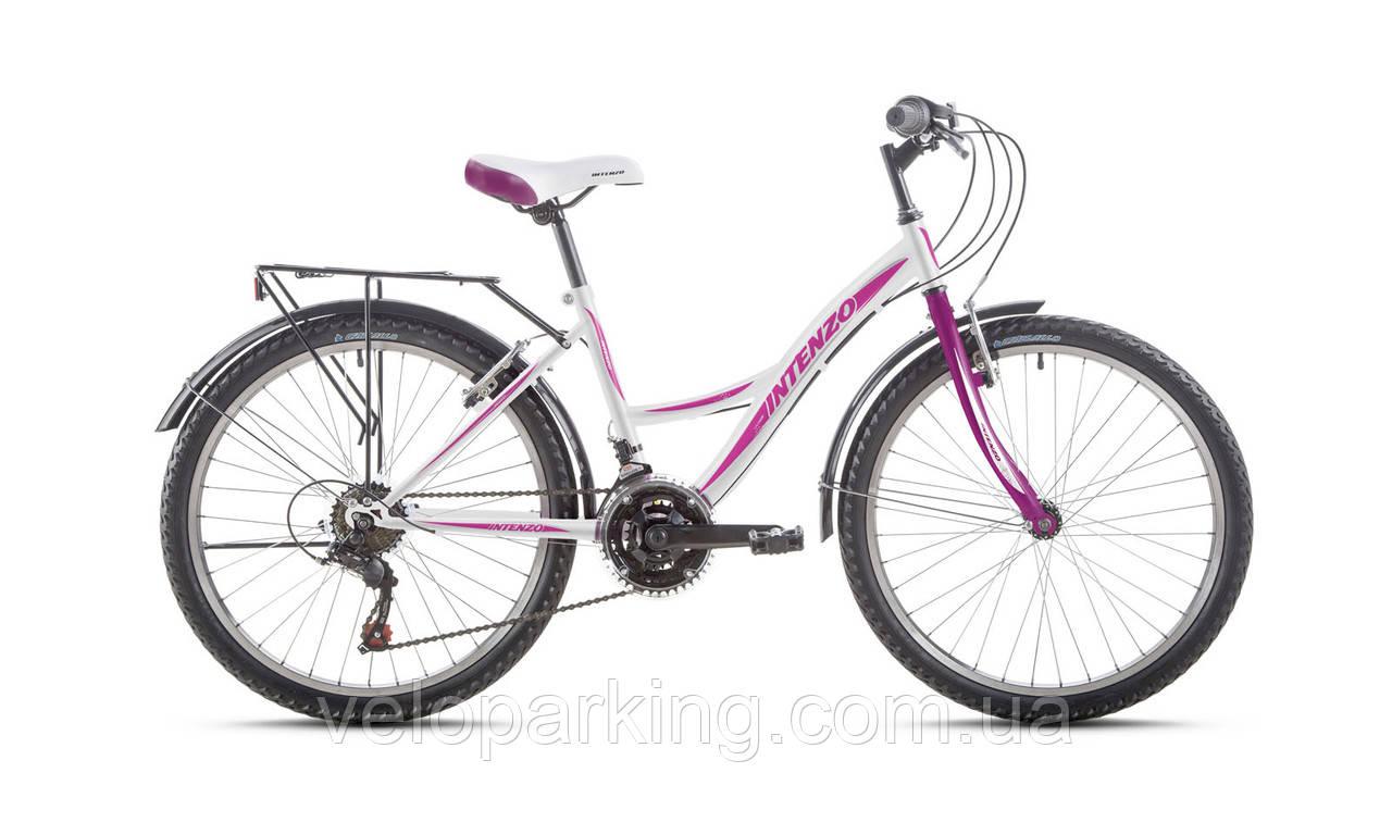 Горный подростковый велосипед для девочки Intenzo Victory 24 (2017) new