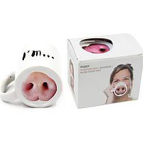 Кружка Свинья, 350мл, фото 3