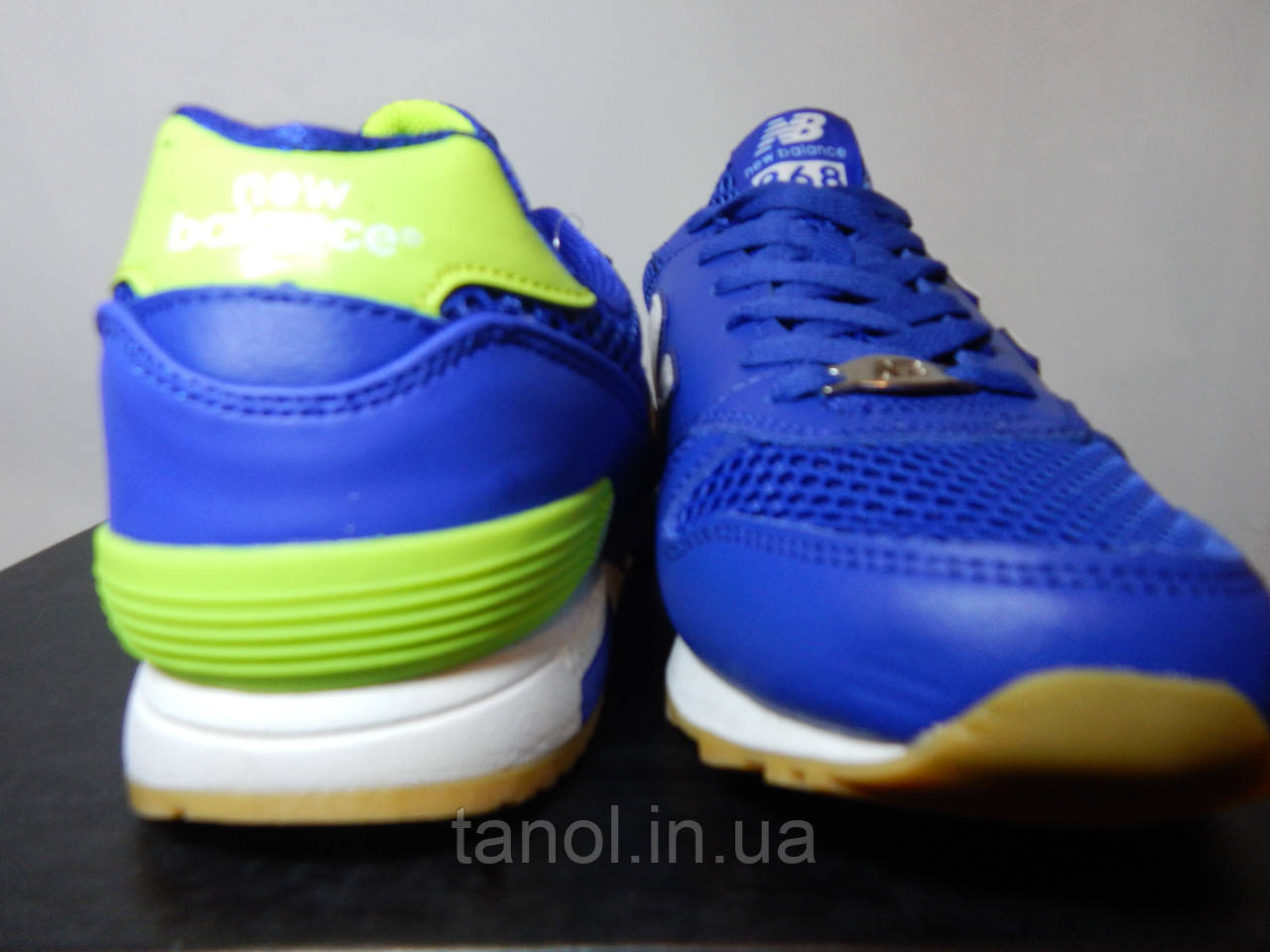 ... Качественные беговые кроссовки NEW BALANCE 368 SKY BLUE мужские  реплика e6ae3660b0e3f