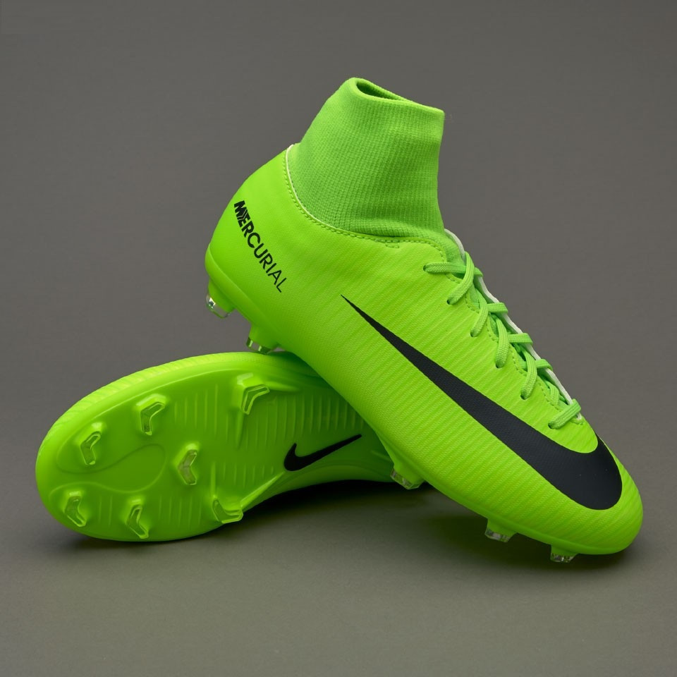 fb29d5fa Детские футбольные бутсы Nike Mercurial Victory VI Junior Dynamic Fit FG