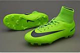 Детские футбольные бутсы Nike Mercurial Victory VI Junior Dynamic Fit FG, фото 3
