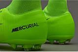 Детские футбольные бутсы Nike Mercurial Victory VI Junior Dynamic Fit FG, фото 6