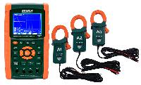 Extech PQ3470-12 1200A комплект анализатора качества электроэнергии (клещи-пробники)