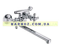Смеситель для ванны Haiba (Хайба) Dominox 140 Евро