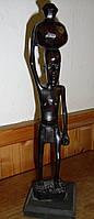 Африканская статуэтка из черного дерева