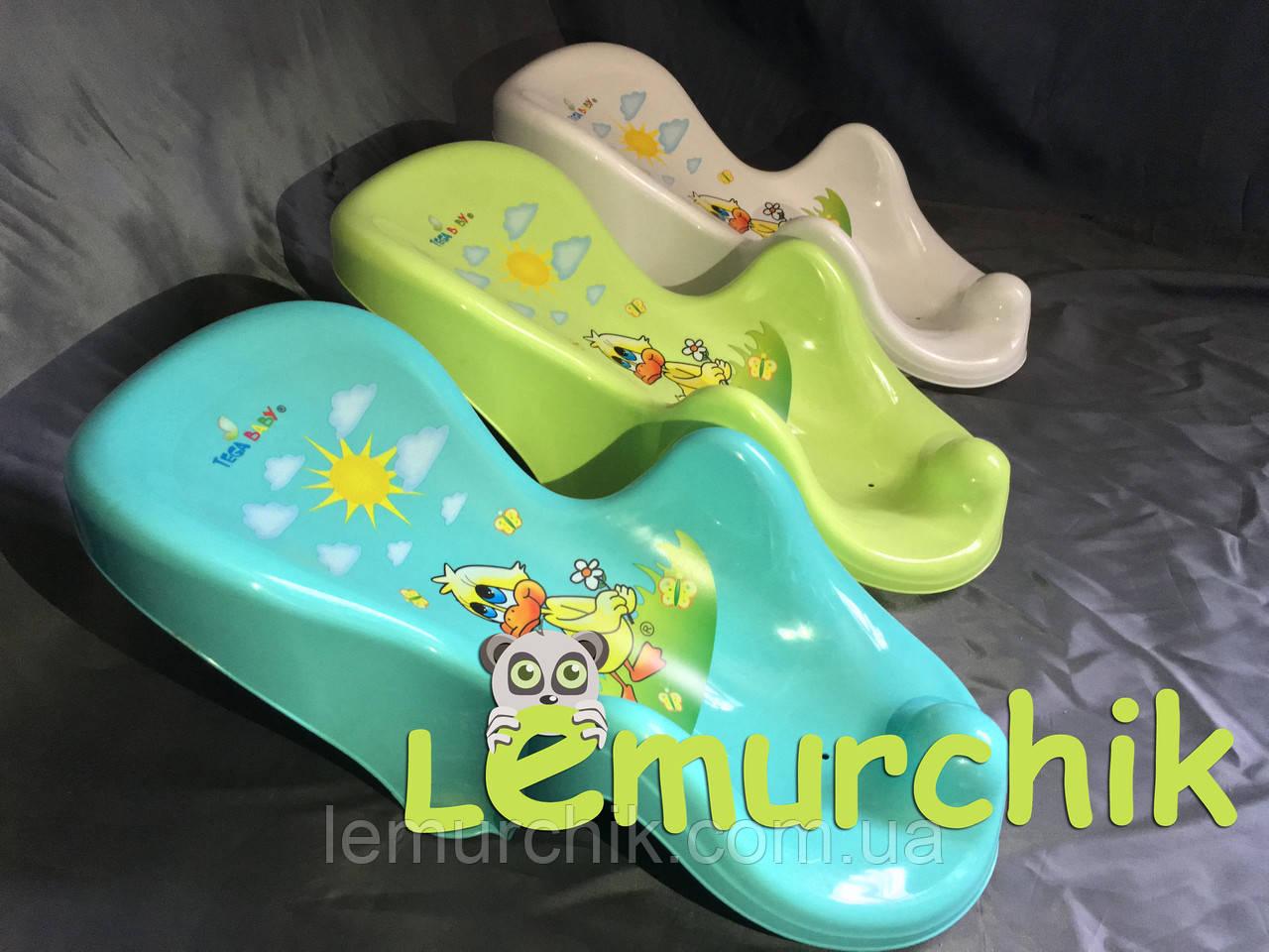 Гірка для купання дитини на присосках (Польща)