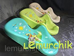 Горка для купания ребенка на присосках (Польша)