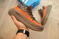 Мужские кроссовки Adidas Yeezy Boost 350 V2, вязаный текстиль / кроссовки мужские Адидас Изи Буст В2