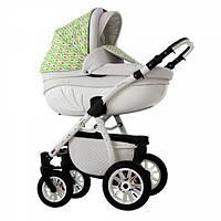 Детская Универсальная коляск 2 в 1 Babyhit Retrus AVENIR Green White  - прогулочный блок + люлька