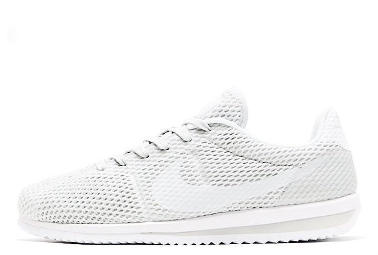 Кроссовки мужские Nike Cortez Ultra BR White (найк кортез) белые - Мультибрендовый интернет-магазин обуви «Лакшери»  в Киеве