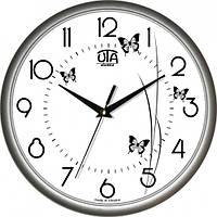 Настенные Часы Сlassic Полет Бабочек Grey