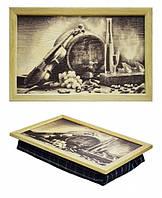 Поднос с подушкой Винный погреб