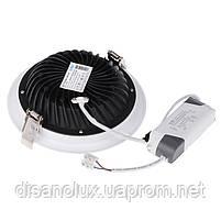 Светодиодный светильник Downlight LED COB DLQ2010R 10W 4200K 220V, фото 4