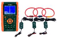 Анализатора качества электроэнергии Extech PQ3470-30 3000A, комплект: Extech PQ3470 c Extech PQ34-30