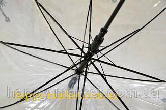 Зонт Для подростка трость полуавтомат Париж  2203-2, фото 2