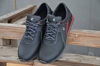 Мужские кожаные кроссовки Ecco  Biom 14 BLACK, фото 1