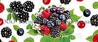 Декоративная бордюрная лента — Лесные ягоды - Н60 - 500 м