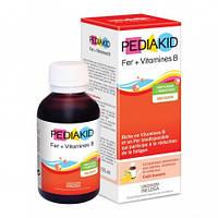Сироп для преодоления анемии и снятия усталости: Фер + витамины группы В Pediakid