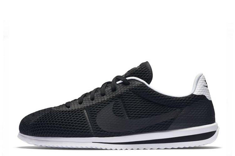 Кроссовки мужские Nike Cortez Ultra BR Black (найк кортез) черные - Мультибрендовый интернет-магазин обуви «Лакшери»  в Киеве