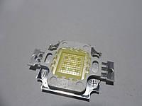 Светодиод 10W 20000K 9-12V светодиод 20000К для аквариумов led aqua, фото 1