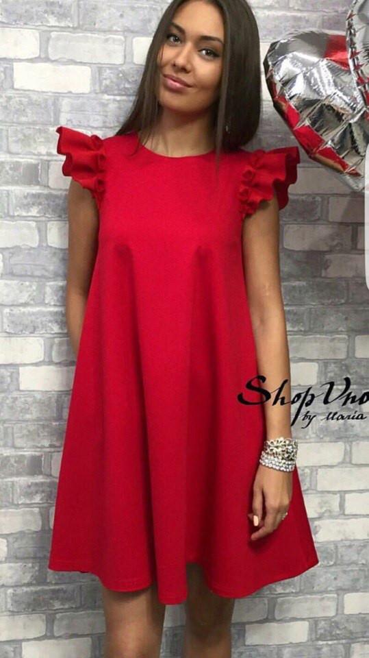 70361b28032 Молодежное платье А-силуэта