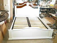 Кровать двойная деревянная