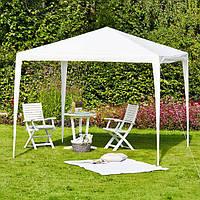 Шатер садовый 2,5х2,5 метра, белый, фото 1