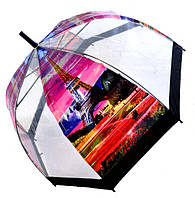 Зонт Для подростка трость полуавтомат Париж 2203-5