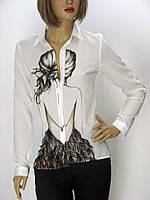 Блузка з принтом New imperial