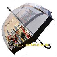 Зонт Для подростка трость полуавтомат Лондон  2203-6