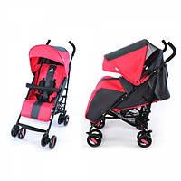 Детская Прогулочная коляска-трость CARRELLO Corsa - корзина, съемный бампер, чехол на ножки