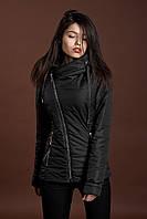 Женская демисезонная куртка, черный, 42-52 размеры
