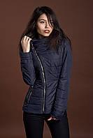 Женская демисезонная куртка, синий, 42-52 размеры