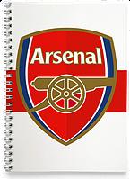Блокнот Тетрадь Arsenal 2, Premier League (Футбол)