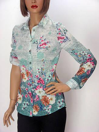 Жіноча шифонова сорочка Sinsere, фото 2