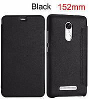 Чехол Lenuo для Xiaomi Redmi Note 3 SE / Note 3 Pro Special Edition 152 книжка black