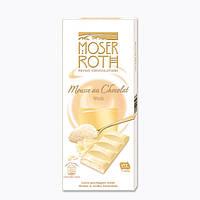 Шоколад белый Moser Roth Mousse au Chocolat Weiss, 187,5 гр.