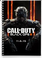 Блокнот Тетрадь Call of Duty, №1 (Игра)
