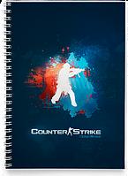 Блокнот Тетрадь Counter-Strike, №1 (Игра)